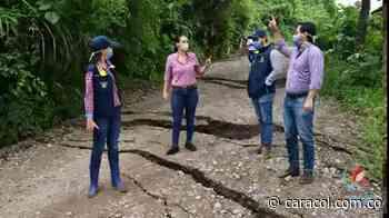 VIDEO: Pérdida total de la vía a San Vicente - Caracol Radio