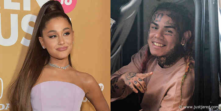 Ariana Grande Claps Back at 6ix9ine's Accusations That She & Justin Bieber Bought Their #1 Spot on Charts