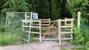Les entrées des parcs de Saint-Laurent-Blangy forcées, alors que leur accès reste interdit - La Voix du Nord