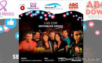 Live com renda revertida para três entidades de Jaboticabal supera expectativas e arrecada mais de R$12 mil - Rádio 101FM