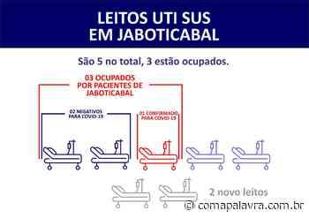 Coronavírus: Jaboticabal contabiliza 30 casos. Mais um foi registrado nesta sexta-feira, 15 - Com a Palavra