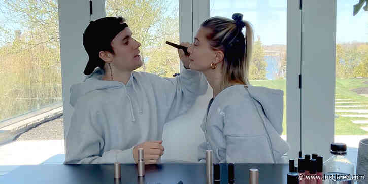 Justin Bieber Does Wife Hailey's Makeup During Most Recent 'Biebers on Watch' Episode