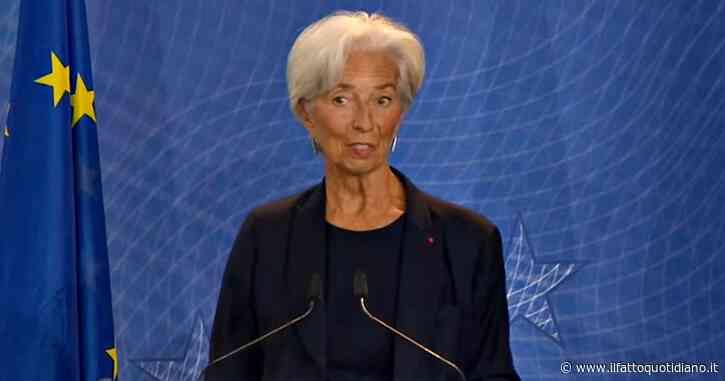 """Coronavirus, Lagarde: """"La crisi è un'occasione per modernizzare il Patto di stabilità, bisogna rivederlo. Covid non è un rischio per l'euro"""""""