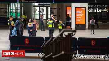 Coronavirus: Train stations put crowd-control measures in place