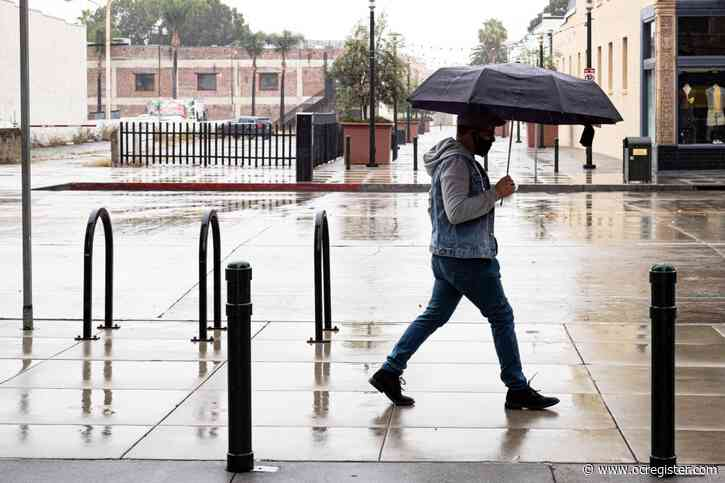 Southern California's drizzle is the week's last rainfall