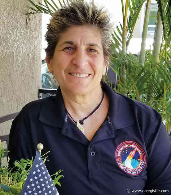 Beverly Berekian is reaching for the stars … from her junior high classroom