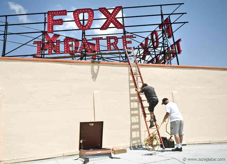 Restored Fox Theatre and a food hall could become downtown Fullerton's north anchor