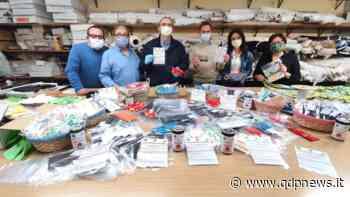 Cornuda, un cestino con mascherine prodotte dai volontari dell'oratorio in molti punti commerciali del Comune - Qdpnews.it - notizie online dell'Alta Marca Trevigiana