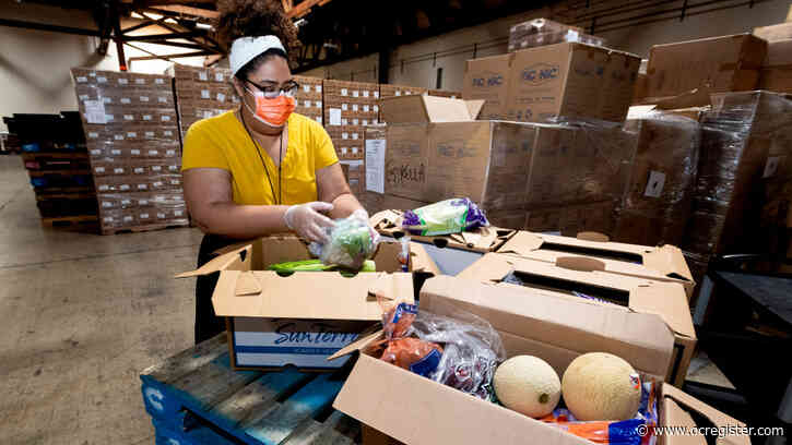 O.C. food banks get first of daily deliveries from USDA coronavirus program