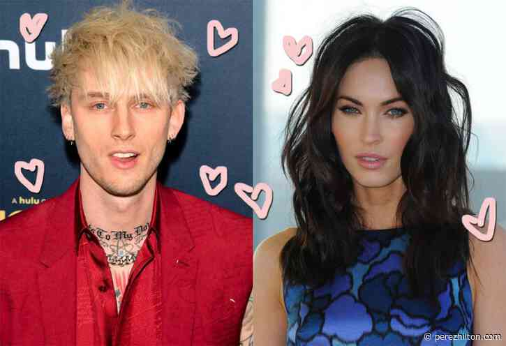 Megan Fox & Machine Gun Kelly ARE 'Hooking Up' — And She's 'Excited' About It!