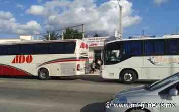 Por contingencia, cierran la terminal de autobuses de ADO en Bacalar - Meganews