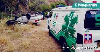 Concejal y funcionario de la Alcaldía de Mogotes se accidentaron este lunes en Santander - Vanguardia