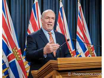 Letters to The Province, May 19, 2020: Thank you, Premier Horgan