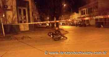 Choque entre una camioneta y una moto en Paso y Chacabuco - La Razon de Chivilcoy