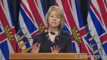 How concerned is B.C.'s top doctor about COVID-19 cases heading into phase 2 of restart plan?