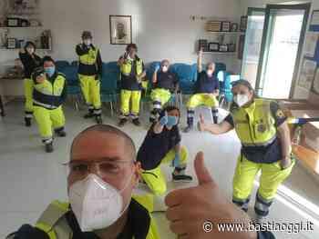 Protezione civile Bastia Umbra, Prociv 1000 consegne in 3 giorn - Bastia Oggi