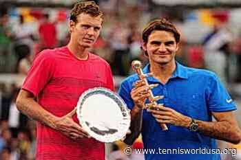 ThrowbackTimes Madrid: Roger Federer reigns over Tomas Berdych on blue clay - Tennis World USA