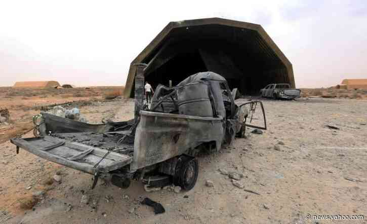 Libya unity govt seizes airbase in new blow for rival Haftar