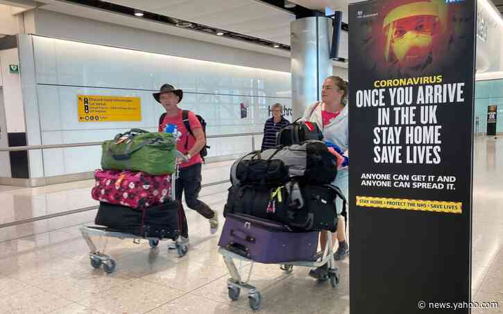 'Air bridge' plan to avoid 14-day quarantine and save holidays abroad
