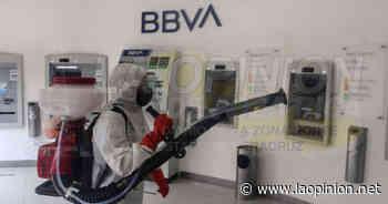 Intensifican desinfección de zonas de riesgo de contagio en Naranjos - La Opinión