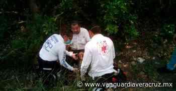 >> Sacerdote derrapa con su moto en Naranjos << - Vanguardia de Veracruz