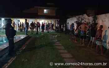 PM encerra 'rave' que reuniu 70 jovens em Lauro de Freitas durante toque de recolher - Jornal Correio
