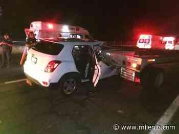 Choque en Acatic deja un herido grave sobre autopista - Milenio