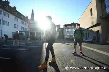 Le retour des élèves au collège Jeanne-de-la-Treilhe à Aurillac (Cantal) - Aurillac (15000) - La Montagne