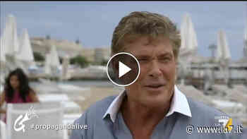 David Hasselhoff ha comprato uno stabilimento a Forte dei Marmi (Celenza) - La7