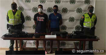 Dos jóvenes fueron capturados por hurtar elementos en un colegio de Guamal - Seguimiento.co