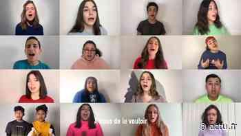 Saint-Fargeau-Ponthierry. Léa a chanté pour rendre hommage aux soignants - actu.fr