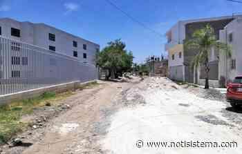 Reparan a medias calle en la colonia Miramar, no la pavimentarán - Notisistema