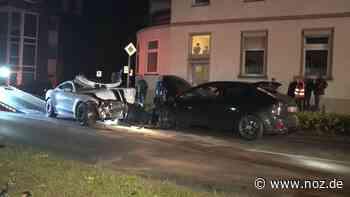 Verkehrsunfall in Rheine: Verdacht auf illegales Autorennen CC-Editor öffnen - noz.de - Neue Osnabrücker Zeitung