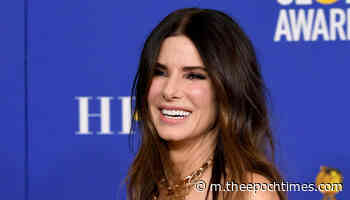 Sandra Bullock's 8-Year-Old Daughter Laila Makes Rare TV Appearance, Shares Support for Medics - The Epoch Times