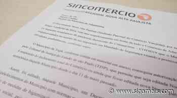Sincomercio protocola na Prefeitura novo pedido para reabertura do comércio de Adamantina - Siga Mais