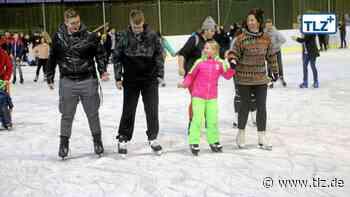Selbst die Hessen kommen zum Eislaufen nach Waltershausen - Thüringische Landeszeitung