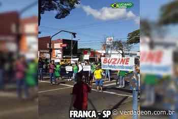 Funcionários da Havan de Franca protestam contra isolamento - Notícias de Franca e Região