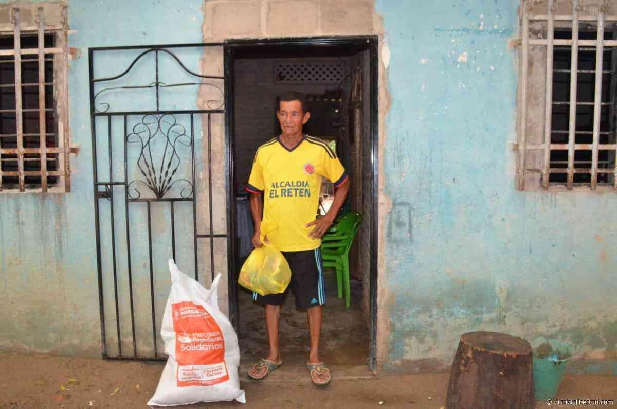 Casa a casa, Gobernación lleva Mercados Populares Solidarios a El Retén - Diario La Libertad