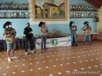 """I """"Veterani Somalia"""" donano 350 mascherine alla sezione Bersaglieri di Tradate - Varese Settegiorni"""