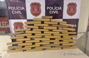 Homem foi preso com 46 tabletes de maconha em Franco da Rocha - RNews