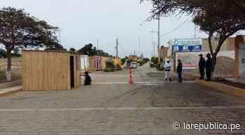 Valle Chicama: también refuerzan desinfección y control de vehículos - LaRepública.pe