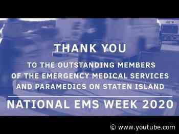 National EMS Week 2020 Thank You from Borough President James Oddo