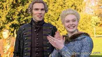 Elle Fanning and Nicholas Hoult in The Great trailer (Hulu) - Yahoo Style