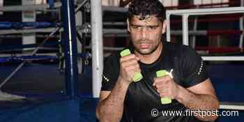 Coronavirus Outbreak: Tokyo Olympics 2020-bound boxer Satish Kumar using tyres and ropes to keep fit... - Firstpost