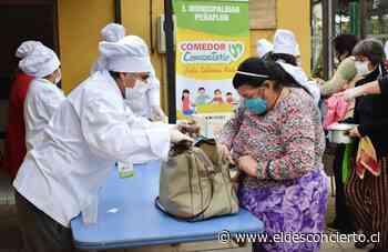 Municipalidad de Peñaflor inaugura comedor comunitario para ir en ayuda de sus vecinos durante la pandemia - El Desconcierto