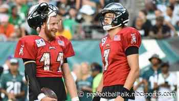 Nate Sudfeld not expecting drama in Eagles quarterback room