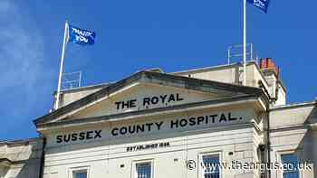 Sussex hospitals raise flags as a symbol of thanks