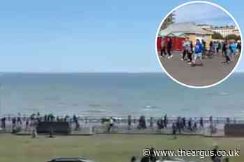 No police powers to stop lockdown protest on Hove seafront