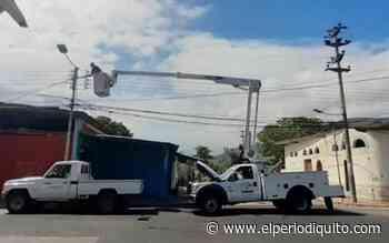 Restablecieron servicio eléctrico en Ocumare de la Costa - El Periodiquito