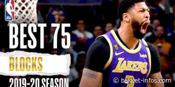 Les 75 meilleurs contres de la saison 2019-20 - Basket Infos